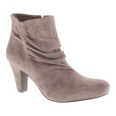 SALE - Bcbgeneration Crest Ankle Boots Womens Gray - $63.00 ONLY. Was $119.00 - You SAVE $56.00.
