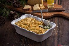 Receita de Bacalhau com migas de broa. Descubra como cozinhar Bacalhau com migas de broa de maneira prática e deliciosa com a Teleculinária!