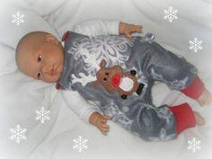 Baby Newborn Strampler Gr. 50 - 56 von me Kinderkleidung und ersatzbezuege auf DaWanda.com