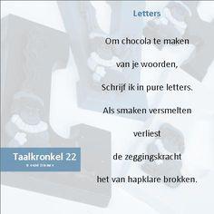 Taalkronkel 22 - Letters