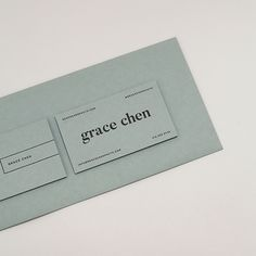 Grace Business Cards