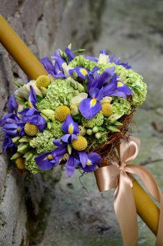 ceara naturala Candels, Christening, Floral Wreath, Bouquet, Wreaths, Wedding, Baby, Decor, Wedding Bride
