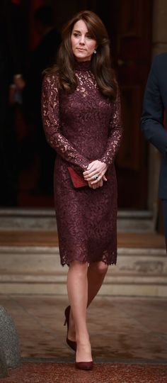 The Duchess of Cambridge's Lace Dress Is Just as Dreamy as Her Gowns