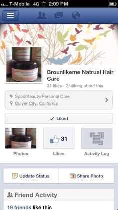 Like MY Page bRoUnLiKeMe Facebook !