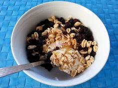 Foodie in Translation: Yogurt, ribes rosso e grano soffiato - Yogurt, cur...