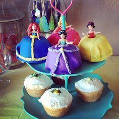 we gotta try to make these  Princess Cupcakes