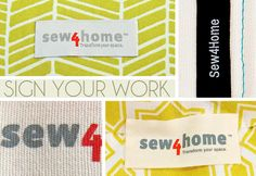 Products We Love: Cruz Label & All Things Labels | Sew4Home