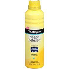 NeutrogenaBeach Defense Sunscreen Spray SPF 70