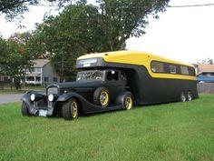 Vintage RV roadster