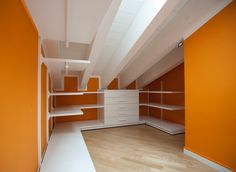 cabina armadio mansardata  My dream closet!