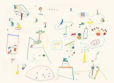 Inventory drawings par Sandra Javera