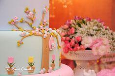 """""""Um jardim encantado"""". esse foi o pedido da mãe da Nicole, Sejana Vieira Vaz Ferreira, para o primeiro aniversário de sua linda florzinha..."""