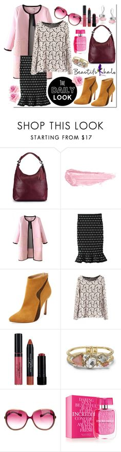"""The Daily Look @beautifulhalo.com"" by westcoastcharmed ❤ liked on Polyvore featuring By Terry, Chelsea Paris, Laura Geller, Club Monaco, Oliver Peoples, Victoria's Secret, Bling Jewelry, women's clothing, women and female"
