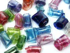 Video Tutorial come fare le perline riciclando le bottiglie di plastica.