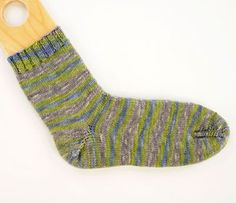 This basic sock pattern is written from the toe up in fingering weight yarn and a variety of sizes, with the Easy Toe cast-on and a short-row heel. You can substitute any of the toe and heel methods you prefer for the toe and heel in this sock. Specifications Size: Child Med (Child Lrg/W Sm, …