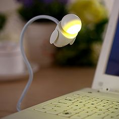 Vktech® Creative Robot USB LED Light Adjustable Tube Night Light Home Bedroom Table Computer Laptop Notebook Lamp (Yellow) Vktech http://www.amazon.com/dp/B015GW0XTY/ref=cm_sw_r_pi_dp_ot.swb163CCA8