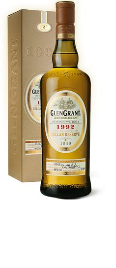 The Glen Grant 1992 cellar reserve Single Malt Whisky available from Whisky Please.