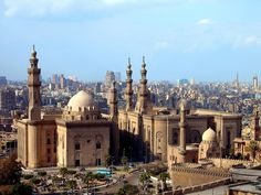 The Sultan Hasan and Rifai mosques,Cairo .جامعى السلطان حسن والرفاعى - القاهرة