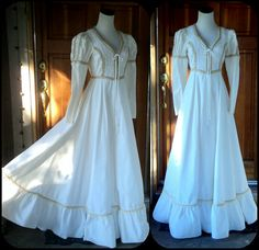 I have this dress also!!! Bought in 1974 for a sweetheart ball. Still looks good!!!!