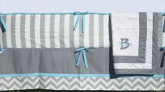 4 plus 1 Piece Custom Crib Bedding Set w/FREE by westwardwillow, $304.00