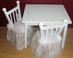 Custom princess table set hand painted children\u0027s furniture child\u0027s table \u0026 chair set & KidKraft Nantucket 5-piece Table and Chairs Set by KidKraft | Table ...