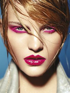 Hot Stuff: Tendências de maquiagem ficam ainda mais incríveis em looks à prova de calor. Fotos: Paschoal Rodriguez