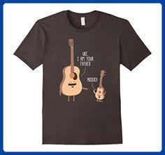 Mens Uke I Am Your Father T Shirt Ukulele Guitar Music Medium Asphalt