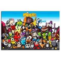 890f5f5b0048 Mixels Group Cartoon Network Poster