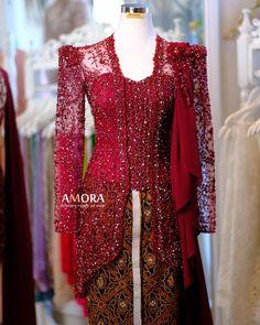 Kebaya Lace, Kebaya Dress, Model Kebaya Modern, Bell Sleeves, Bell Sleeve Top, Ready To Wear, Dresses With Sleeves, Gowns, Fashion Outfits