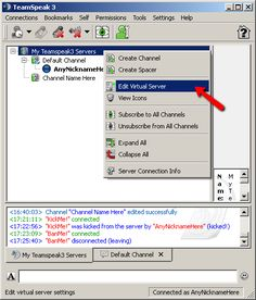 Edit Virtual Server http://www.instantteamspeak.com/support/teamspeak-3-add-server-password.php