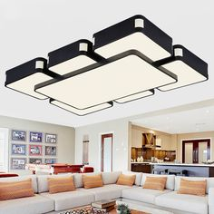 Surface mounted modern led ceiling lights for living room bedroom lamparas de techo colgante led ceiling lamp fixture luminaire *** You can get more details by clicking on the image.
