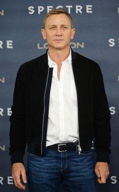 Spectre Promotion Daniel Craig Black Jacket