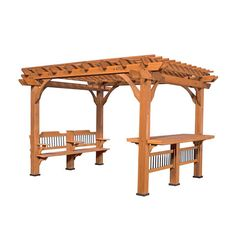 Patio Products - Oasis Pergola 10 X 12 Pergola #features
