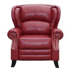 Kingsley Recliner Cherry Red Bonded Leather  sc 1 st  Pinterest & Walworth Black Cherry Rocker Recliner /category/living-room ... islam-shia.org