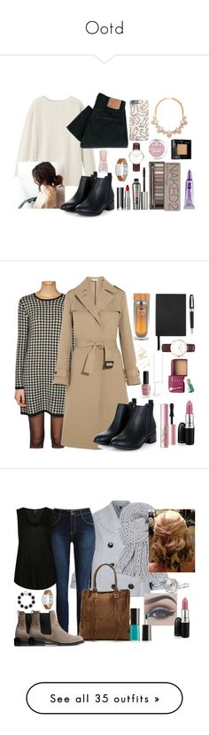 """""""Ootd"""" by luludedid on Polyvore featuring mode, Toast, Levi's, Givenchy, Benefit, Forever 21, Daniel Wellington, Urban Decay, FOSSIL et Essence"""