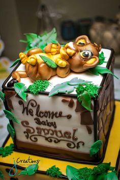 J Creations Photography | Simba, Baby Shower Cake | Phoenix, AZ  Jcreationsaz.com