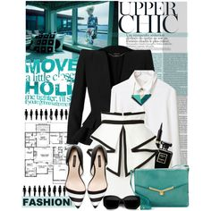 """Upper Chic"" by tamara-p on Polyvore"