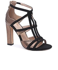 Block Heels - Bronze The Vamps, Block Heels, High Heels, Bronze, Pairs, Elegant, Fashion, Classy, Moda