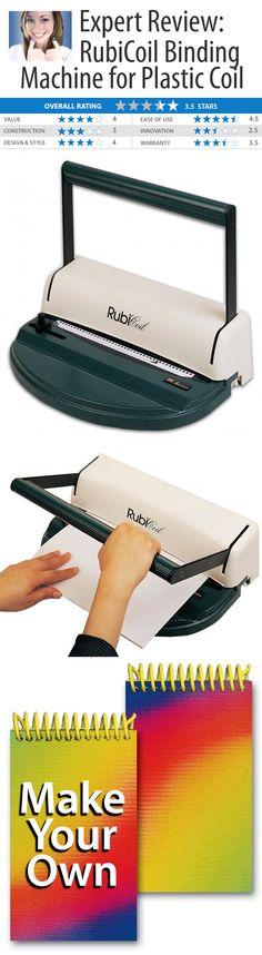 rubicoil binding machine