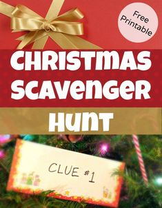 Christmas Scavenger Hunt Clues for hiding Christmas Gifts - great for kids! Free Printable clues to lead kids around the house on a gift hunt, great for surprising kids with big gift ideas Christmas 2014, Family Christmas, Winter Christmas, All Things Christmas, Christmas Presents, Christmas Ideas, Christmas Present Hunt Clues, Christmas Eve Box For Kids, Christmas Riddles For Kids
