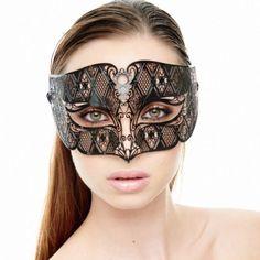 Luxurious Mardi Gras Phantom Inspired Mask