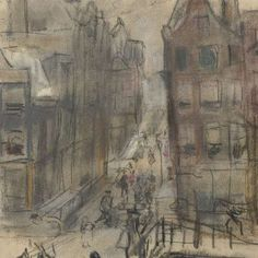 Brug over het Singel bij de Oud Spiegelstraat te Amsterdam, Isaac Israels, ca. 1894 - ca. 1895 - Rijksmuseum