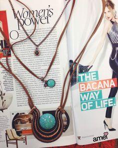 Era só o que faltava ❤ #lojaamei #acessorio #colar #bronze #turquesa #fazdiferença