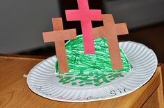Paper Plate Good Friday Easter Craft