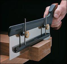 Veritas® Saw Depth Stop | study and create a 3d-printable clamp for any hacksaw