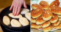 No vienas kefīra pakas vesela kaudze ar garšīgiem pīrādziņiem - Noderēs. Bread And Pastries, Russian Recipes, Bread Rolls, Dessert Recipes, Desserts, Sweet Bread, Pretzel Bites, Hot Dog Buns, Good Food
