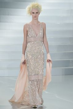 Chanel Couture-2014 peach