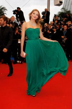 Cannes Red Carpet:  Lily Donaldson [2012]