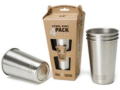 Love Klean Kanteen! And now they offer great pint glass for your picnic or BBQ this summer.