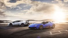 The Lamborghini Huracan was debuted at the 2014 Geneva Motor Show and went into production in the same year. The car Lamborghini's replacement to the Gallardo. The Huracan is available as a coupe and a spyder. Ferrari, Lamborghini Huracan Spyder, Supercars, Full History, Geneva Motor Show, Car Wallpapers, Amazing Cars, Awesome, Geneva